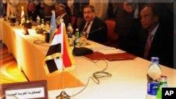 阿盟會議上敘利亞席位空置