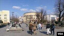 Mladi na ulicama Banja Luke