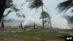 Los vientos del huracán superaron los 350 kilómetros por hora, destruyendo todo lo que se encontraba a su paso.