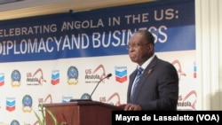 Angola, Vice-Presidente, Manuel Vicente, no evento da Câmara do Comércio Estados Unidos/ Angola, Washington DC, Agosto 4, 2014