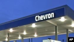 Une station d'essence Chevron en Angola, le 22 juin 2012.