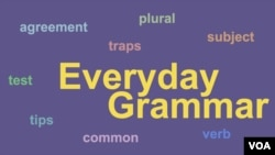 Everyday Grammar-Do/Does You Understand Subject-Verb Agreement?