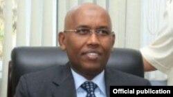 Wasiirka Maaliyadda ee Jabuuti Ilyas Moussa Dawaleh