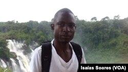 Marcelino Gimbi, correspondente da Rádio Despertar em Malanje, Angola