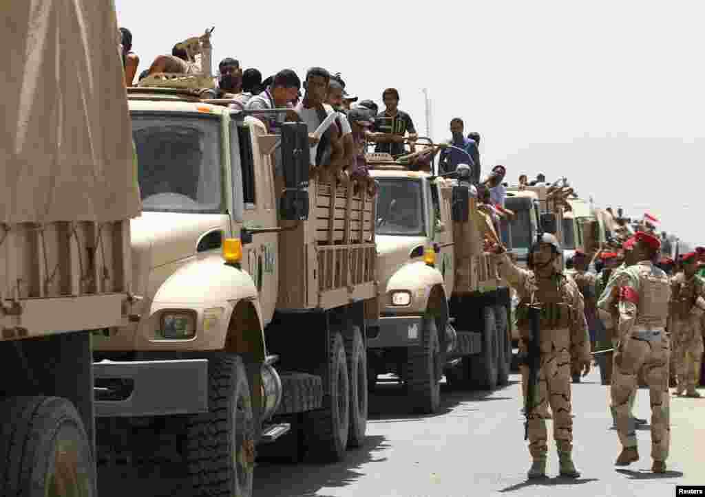 صدر براک اوباما نے عراق میں امریکی سفارت خانے اور وہاں تعینات عملے کے افراد کی حفاظت کے لیے 275 اہلکاروں پر مشتمل لڑاکا فوجی دستہ عراق بھیجنے کی منظوری دی ہے۔