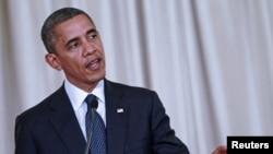 US President Barack Obama speaks during a media conference in Bangkok, Thailand, November 18, 2012.