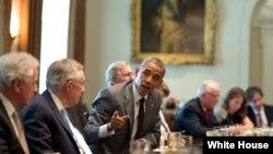 رئیس جمهور اوباما معامله روی برنامۀ هستوی ایران را فرصت بی نظیر خوانده است