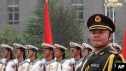 中国三军仪仗队海军分队 (资料照片)