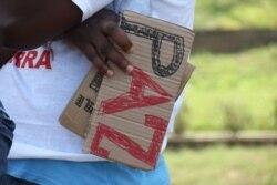 Jovens moçambicanos desiludidos com a politica