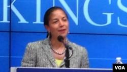 La asesora de Seguridad Nacional, Susan Rice, no ve con buenos ojos la visita del primer ministro israelí al Congreso.