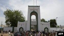 Le palais du sultan et président général du Conseil suprême national pour les affaires islamiques du Nigeria (NSCIA), Muhammadu Saad Abubakar, à Sokoto, nord-ouest du Nigeria, le 23 août 2016.