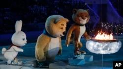 索契冬奧會閉幕表演