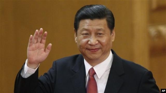 15일 중국 베이징 인민대회당에서 시진핑 중국 당총서기. (자료사진)