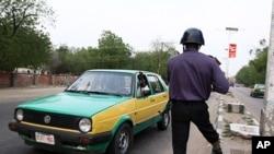 Contrôle policier à Maiduguri (Archives)