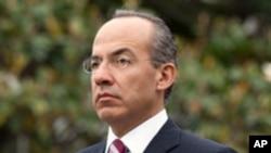 Felipe Calderon, president of Mexico, (File)