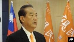 亲民党总统候选人宋楚瑜