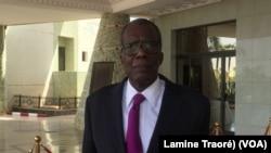 Ousséni Compaoré, ministre de la Sécurité, à Ouagadougou, le 1er février 2019. (VOA/Lamine Traoré)