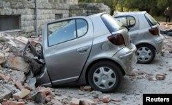 البانیا کے علاقے ترانہ میں زلزلے سے املاک کو شدید نقصان پہنچا۔ 21 ستمبر 2019
