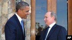 Predsjednici SAD i Rusije Barack Obama i Vladimir Putin