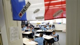 Students at the International School of Louisiana in New Orleans. In 2011 the school received more applications for its French program than ever before. All 29 of the state's public French immersion programs had waiting lists.