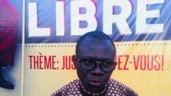 Reportage de Lamine Traoré sur un festival de cinéma à Ouagadougou