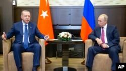 Recep Tayyip Erdogan Da Vladimir Putin