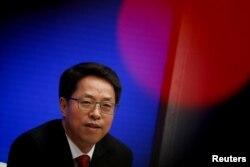 Zhang Xiaoming, Wakil Direktur Kantor Urusan Hong Kong dan Makau, China. (Foto: dok).