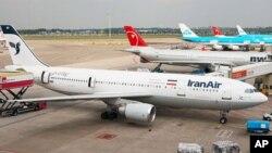 Pesawat Airbus A300 milik maskapai Iran Air di bandara Schiphol, Belanda (foto: ilustrasi).