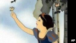 صحنهای از کارتون سفید برفی و هفت کوتوله