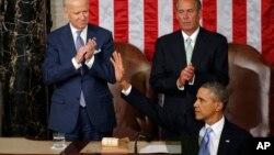 El presidente Barack Obama recibió la ovación de los demócratas y republicanos al hablar de la reforma de inmigración.