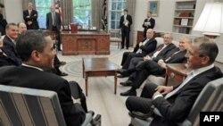Ministri i jashtëm rus, Lavrov takohet me presidentin Obama