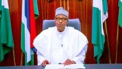 """Shugaban Najeriya Muhammadu Buhari ya yi jawabi don kwantar da hankulan 'yan kasa kan kisan matasa masu zanga-zanga - 3' 37"""""""