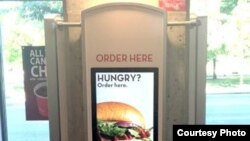 Fast-food chain Wendy's is installing self-ordering kiosks in 1,000 locations nationwide. (Wendy's)