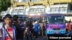 YBS yangon bus service