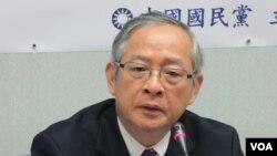 台湾执政党国民党立委林郁方(美国之音张永泰拍摄)
