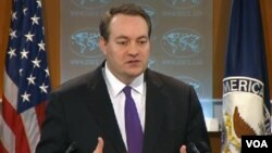 Patrick Ventrell, juru bicara Dewan Keamanan Nasional AS menyesalkan keputusan Rusia untuk tidak menghadiri pertemuan puncak di Den Haag (foto: dok).