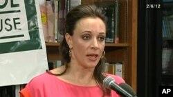 올해 2월 TV에 출연한 폴라 브로트웰. (자료사진)