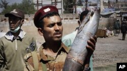 也門軍隊鎮壓示威。