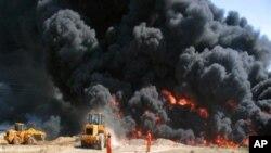 عراق: ریفائنری پر حملہ، چار کارکن ہلاک، ریفائنری بند