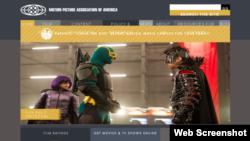 美国电影协会的网站(网络截图)