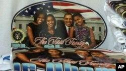 美國總統第一家庭的合照是就職典禮熱買的紀念品之一