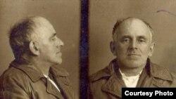 Осип Мандельштам. Тюремное фото.