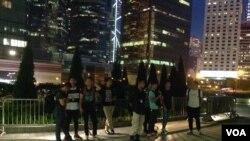 香港本土和主张港独团体举行集会