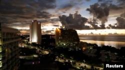 Вид на Гуам