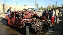 آرشیو:انفجار یکی از سه بمبی که در کرکوک در اتوموبیل کارسازی شده بود در روز ۶ نوامبر