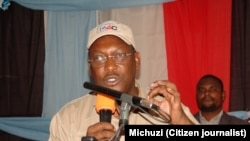 Freeman Mbowe kiongozi wa Chama kikuu cha Upinzani Tanzania Chadema