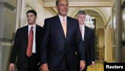El republicano John Boehner se reunió también con el mandatario de EE.UU. con quien discutió algunos puntos de la reforma migratoria.