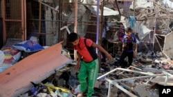 Otro ataque suicida se produjo el pasado mes de julio en un mercado al noreste de Bagdad que también fue atribuido al Estado islámico.