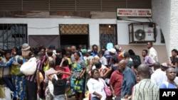 Wakazi wa DRC nchini Brazzaville.
