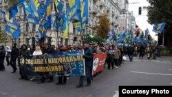 Марш Славы героев по случаю Дня защитника Украины, 14 октября, Киев